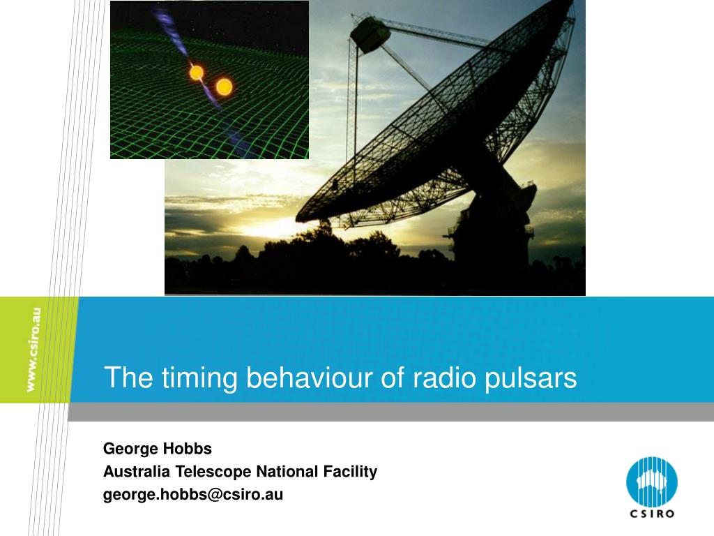 the timing behaviour of radio pulsars l.