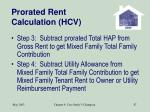 prorated rent calculation hcv87
