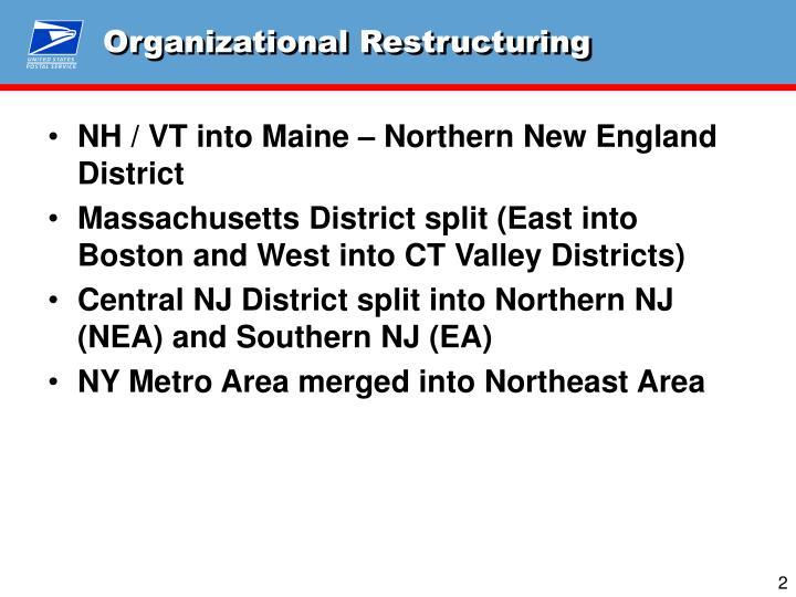 Organizational Restructuring
