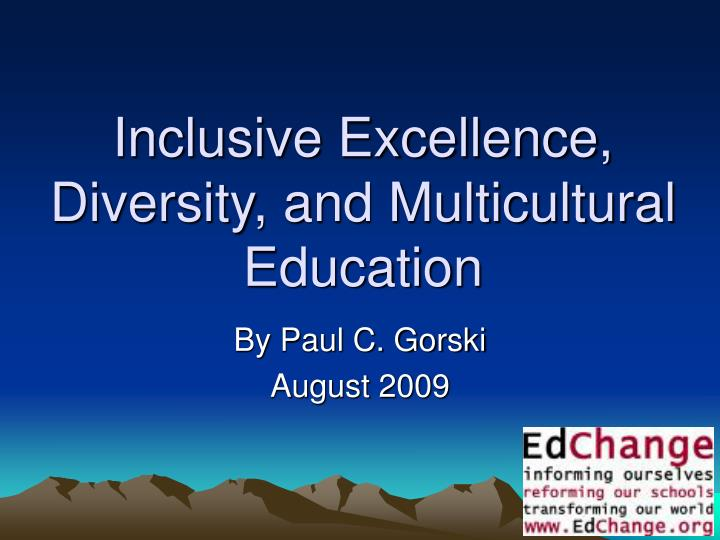 multicultural education term paper Education/multicultural education: piecing together the puzzle term paper 2054 education term papers disclaimer: free essays on education posted on this site were donated by anonymous users and are provided for informational use only.