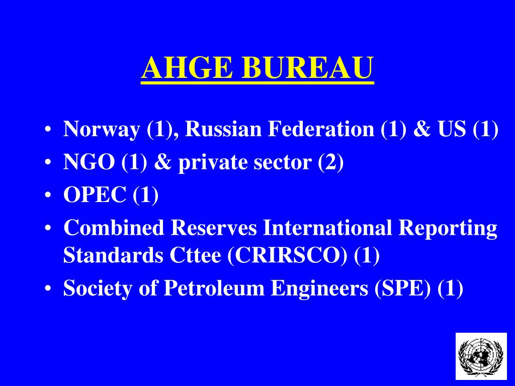 AHGE BUREAU
