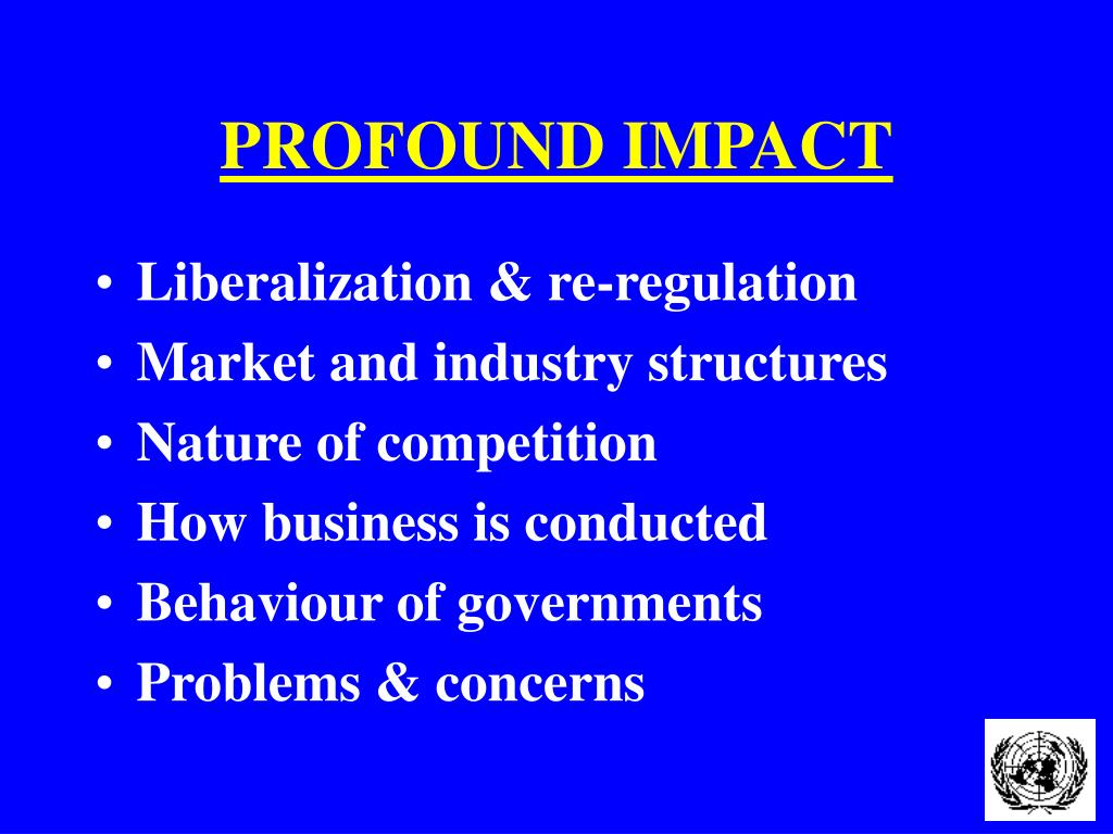 PROFOUND IMPACT