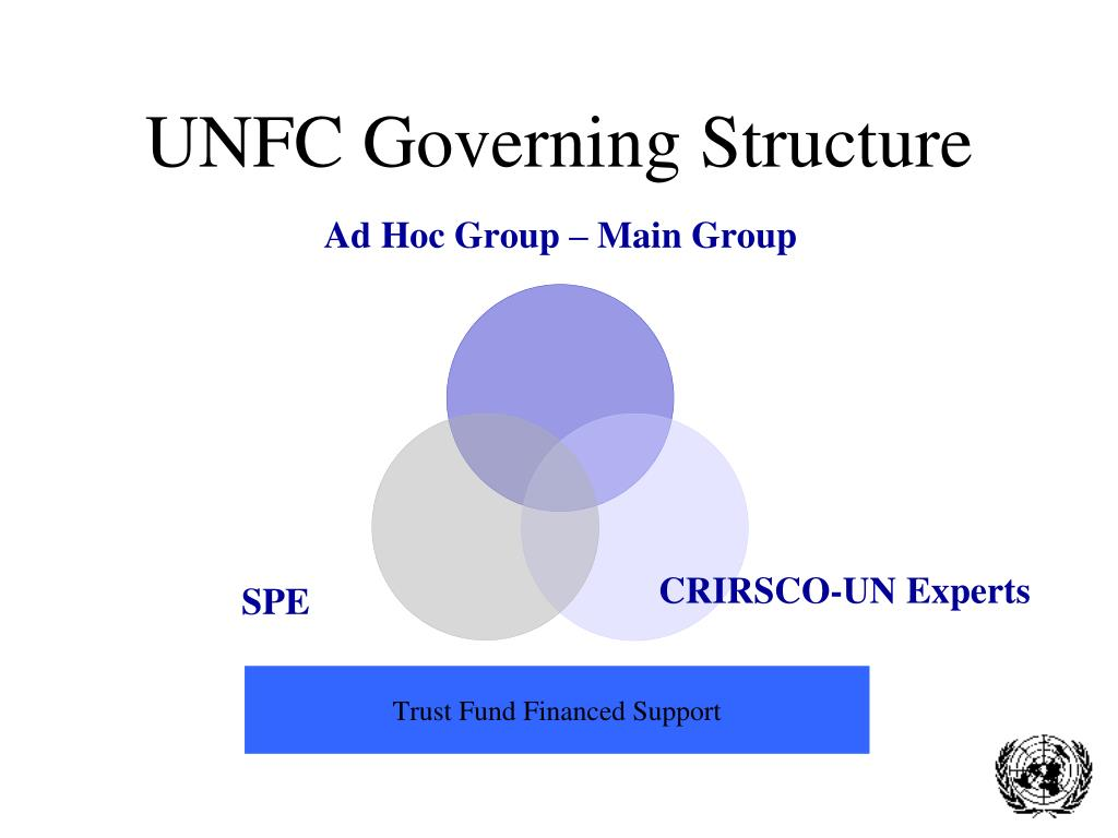 UNFC Governing Structure