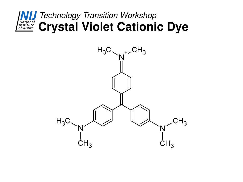 Crystal Violet Cationic Dye