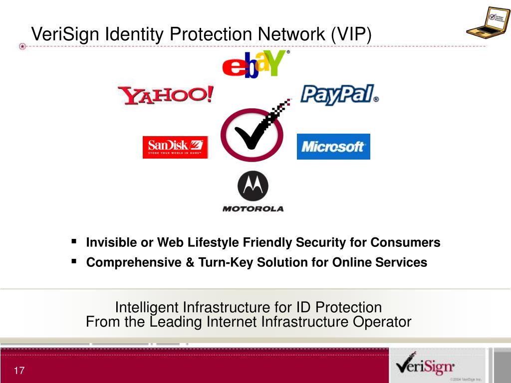 VeriSign Identity Protection Network (VIP)