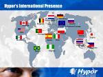 hypor s international presence