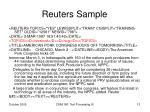 reuters sample