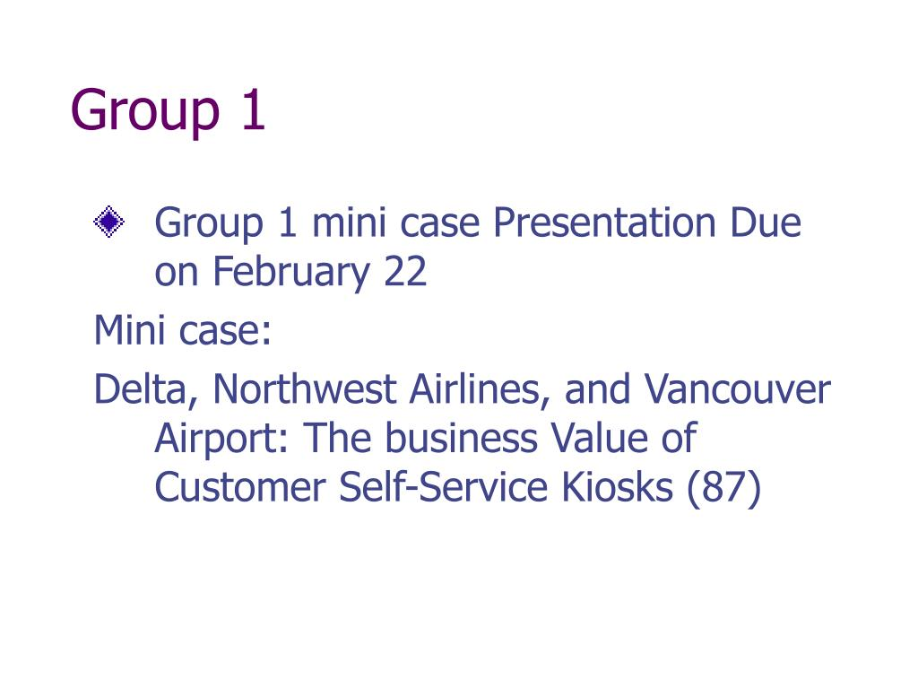 group 1 l.