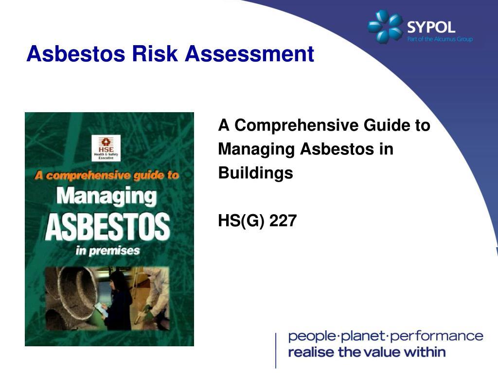 Asbestos Risk Assessment