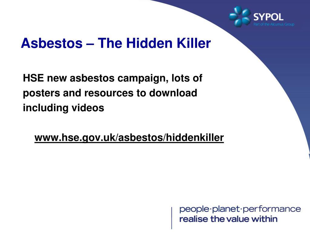 Asbestos – The Hidden Killer