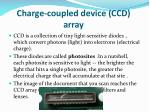 charge coupled device ccd array