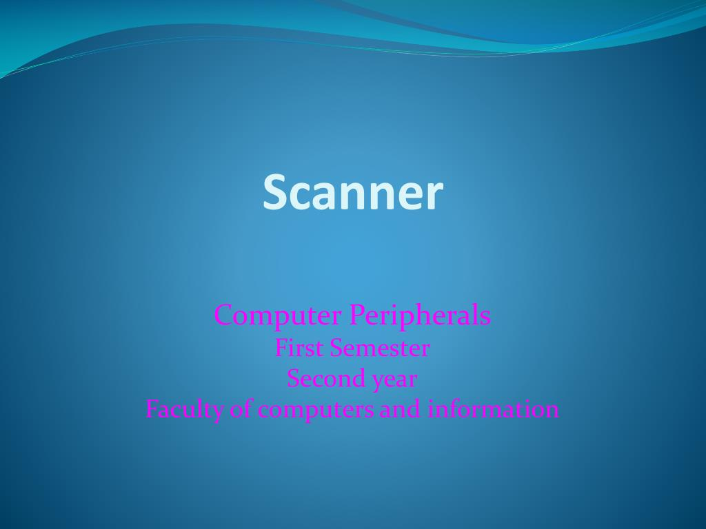scanner l.