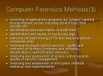 computer forensics methods 3