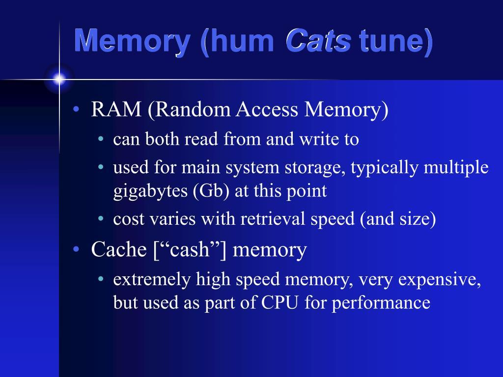 Memory (hum