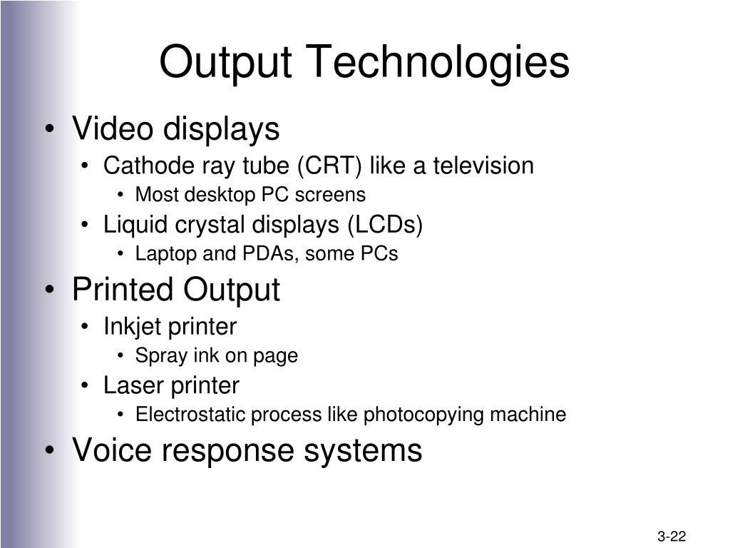 Output Technologies