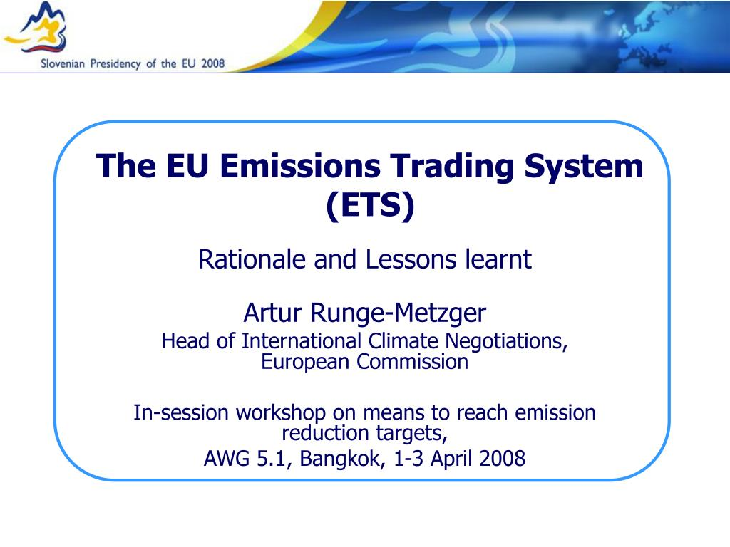 ETS Trading System