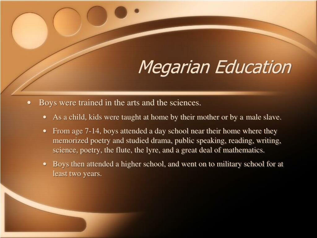 Megarian Education