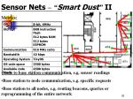 sensor nets smart dust ii