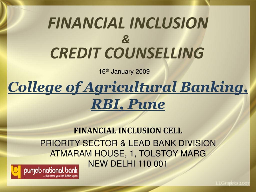 financial inclusion l.