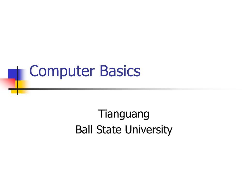 computer basics l.