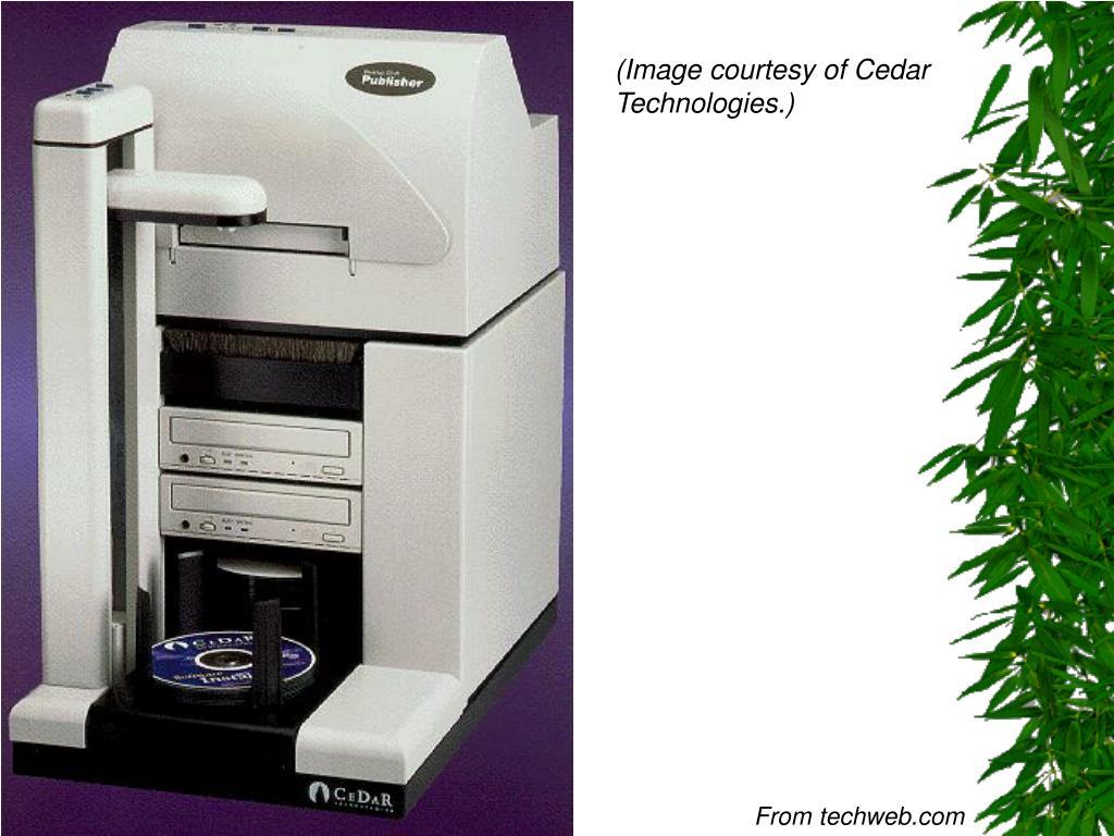 (Image courtesy of Cedar Technologies.)