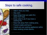 steps to safe cooking41