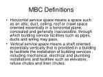 mbc definitions