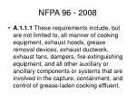 nfpa 96 200813