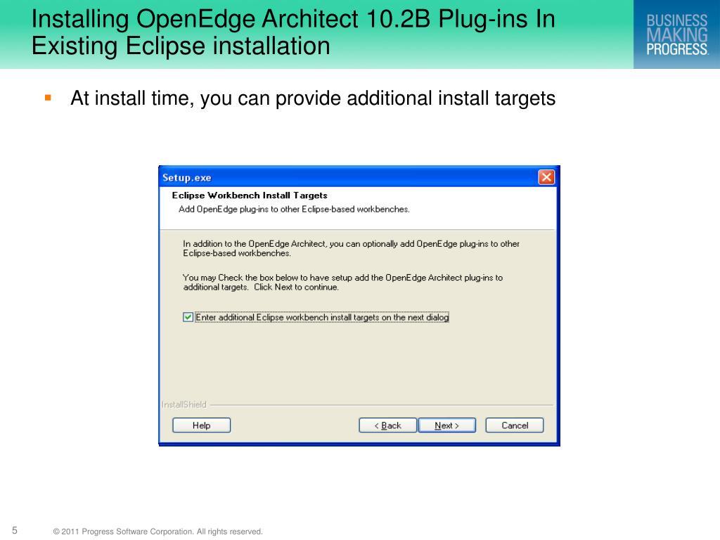 openedge 10.2b software