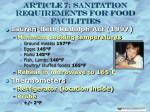 article 7 sanitation requirements for food facilities12