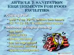 article 7 sanitation requirements for food facilities16