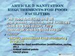 article 7 sanitation requirements for food facilities20