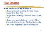 fire deaths