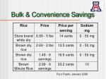 bulk convenience savings