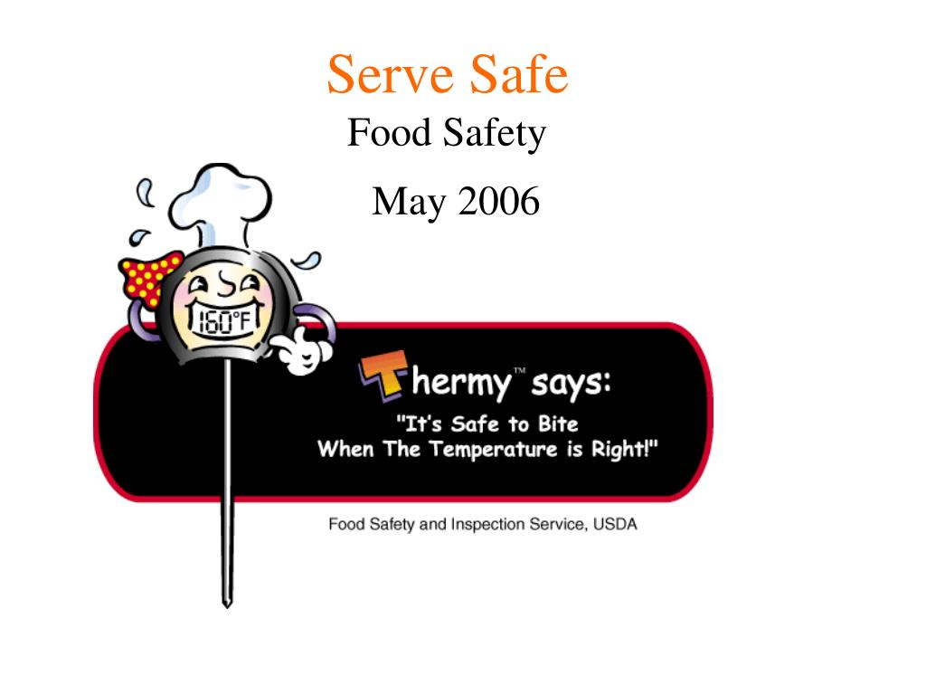 serve safe food safety l.