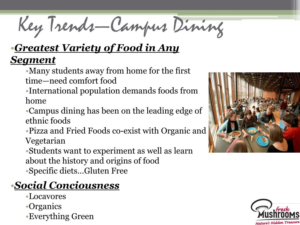 Key Trends—Campus Dining