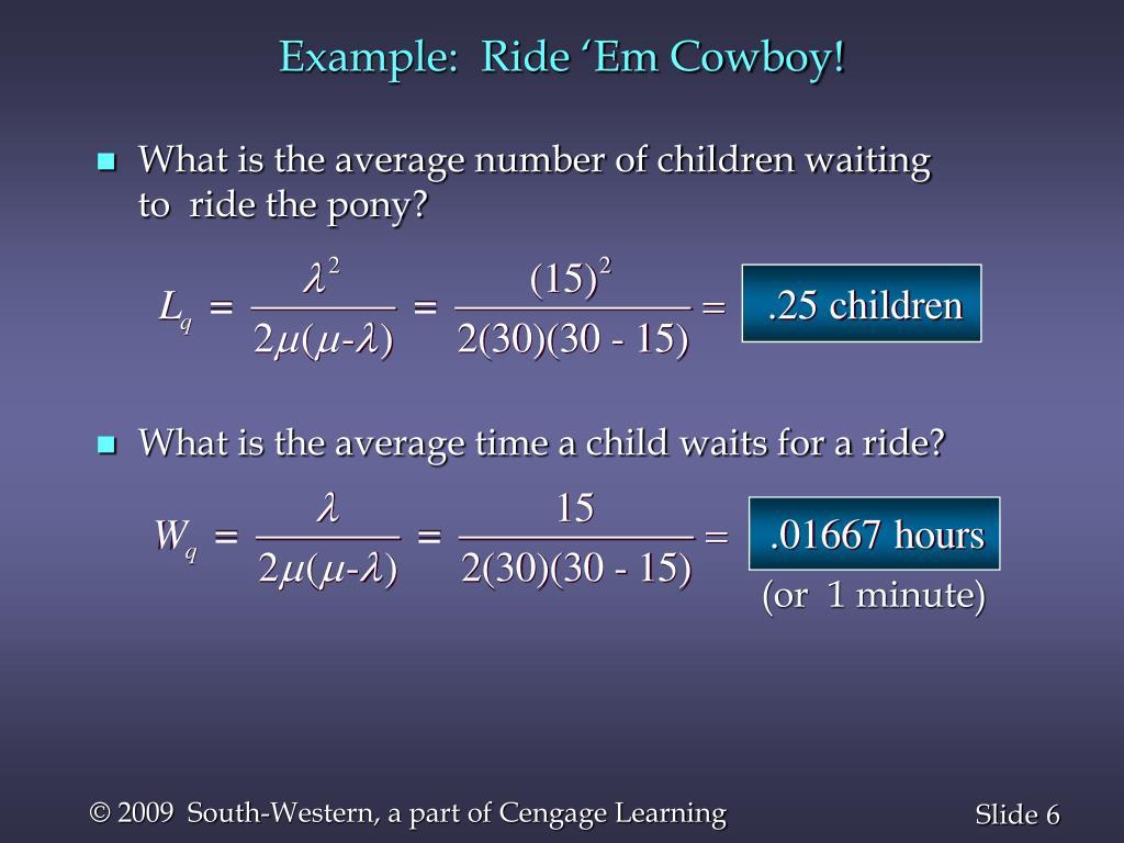 Example:  Ride 'Em Cowboy!