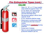 fire extinguisher types cont13