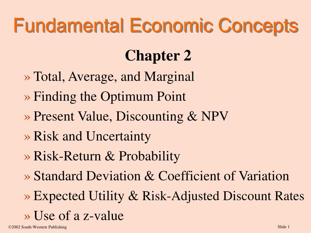 fundamental economic concepts l.