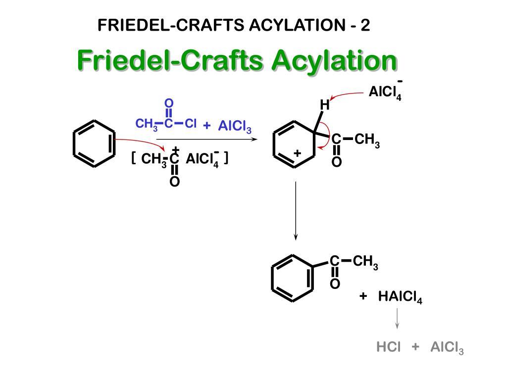 FRIEDEL-CRAFTS ACYLATION - 2