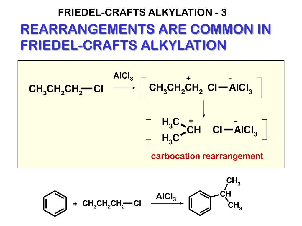 FRIEDEL-CRAFTS ALKYLATION - 3