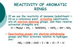 reactivity of aromatic rings6
