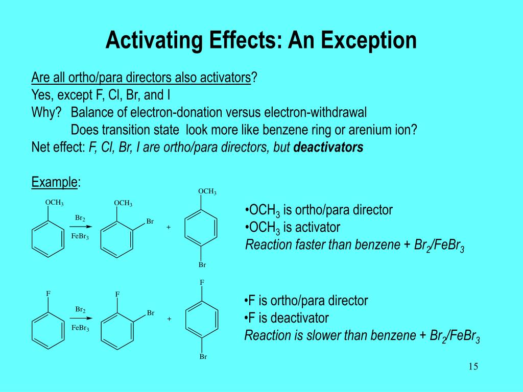 Activating Effects: An Exception
