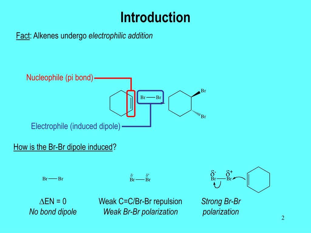 Nucleophile (pi bond)