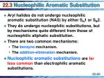 22 3 nucleophilic aromatic substitution