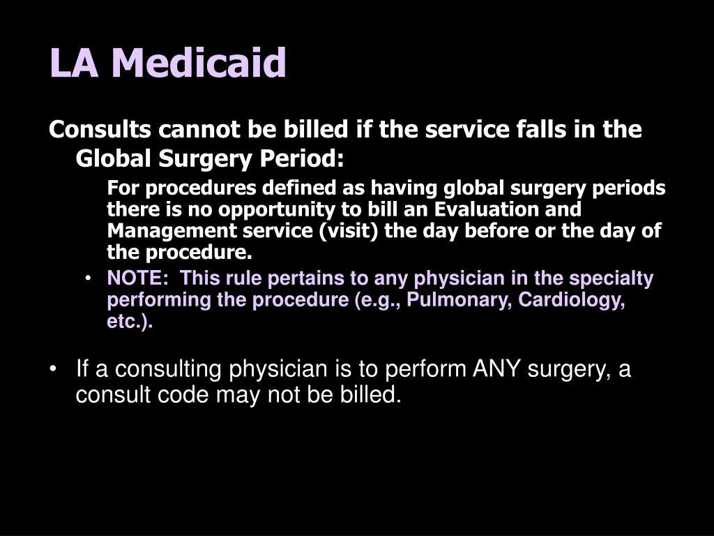 LA Medicaid