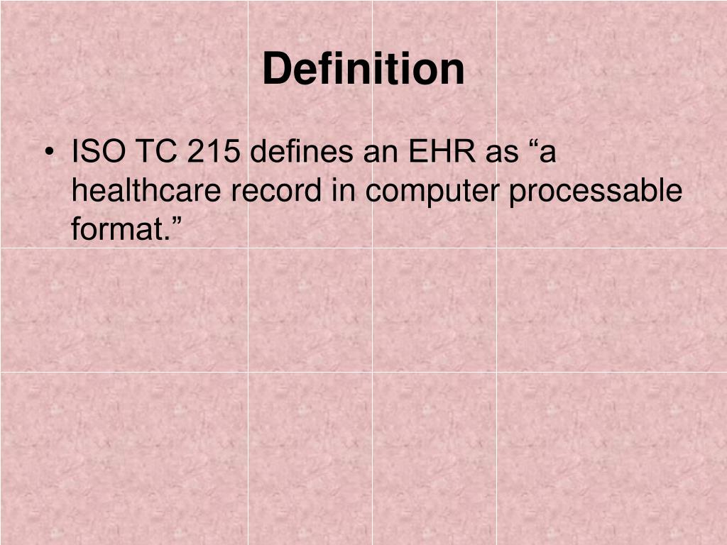 PPT - Overview of Electronic Medical Records PowerPoint Presentation, free download - ID:614594