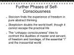 further phases of self consciousness