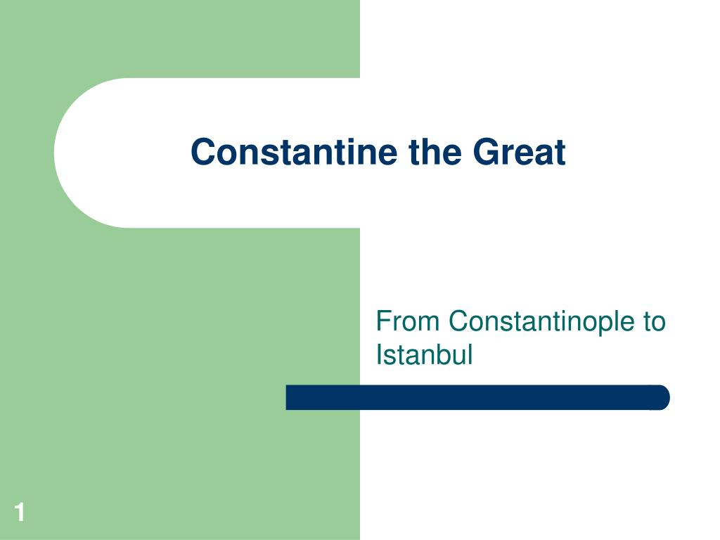constantine the great l.