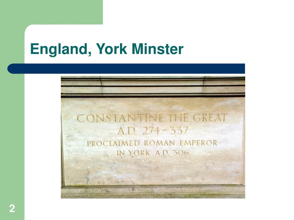 England, York Minster